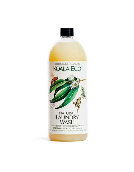 Koala Eco - Laundry Liquid  Lemon Scented, Eucalyptus & Rosemary 1L