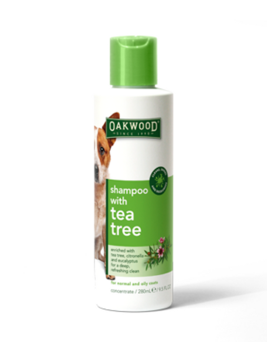 Oakwood - Pet Shampoo with Tea Tree Oil 280ml