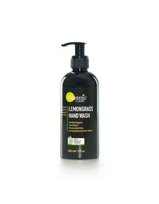 Organic Clean - Hand Wash Lemongrass 250ml
