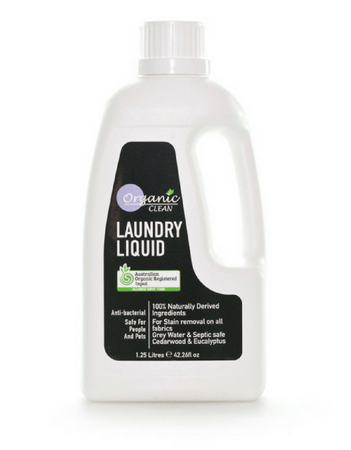 Organic Clean - Laundry Liquid Cedarwood & Eucalyptus 1.25L
