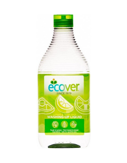 Ecover - Washing-Up Liquid Lemon & Aloe Vera 450ml