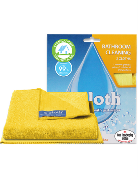e-cloth Bathroom Cleaning Pack - Twin Pack