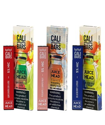 CALI BARS Disposable by Juice Head