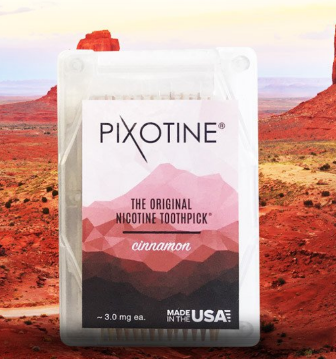Pixotine, the Original Nicotine Toothpick