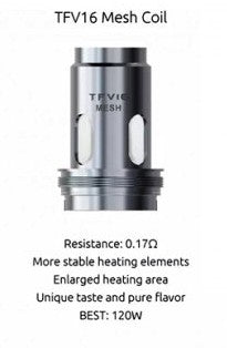 SMOK TFV16 MESH REPLACEMENT COILS