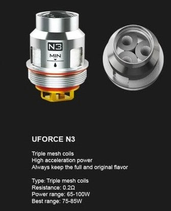 VOOPOO UFORCE Replacement Coils - 5/pk