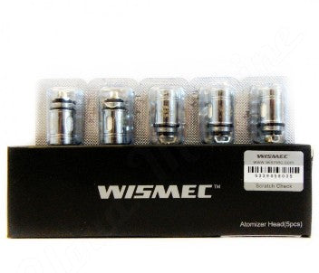 Wismec Replacement Atomizer Heads - 5/pk