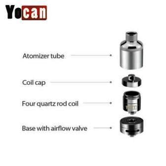 YOCAN COIL CAPS for Evolve Plus and Evolve Plus XL - 5/pk