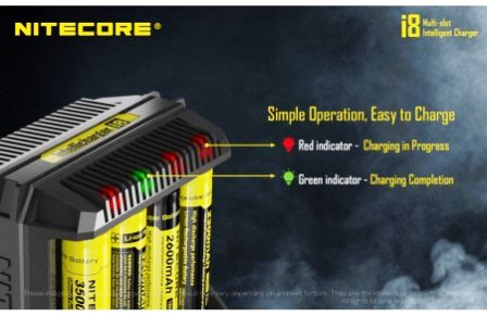 Nitecore Intellicharge i8 Battery Charger