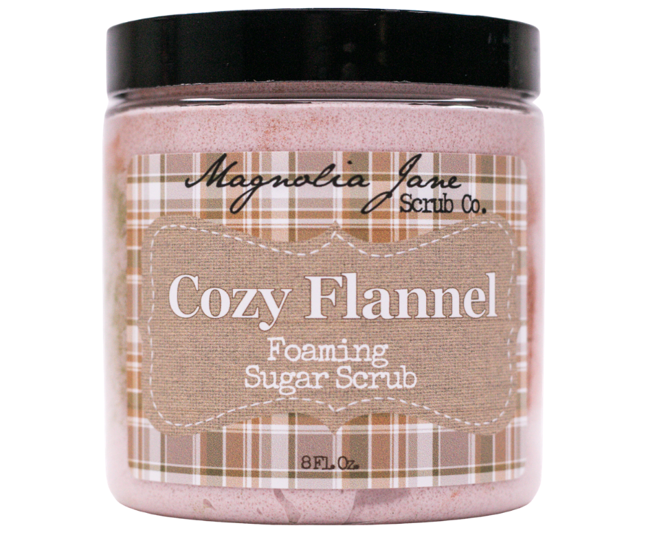 Cozy Flannel Foaming Sugar Scrub