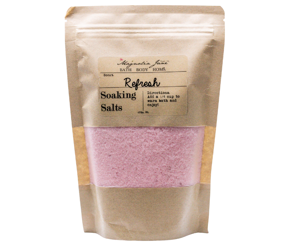 Refresh Soaking Salts