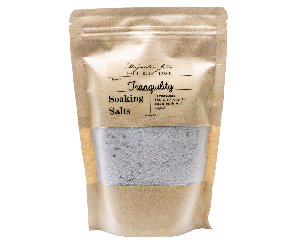 Tranquility Soaking Salts