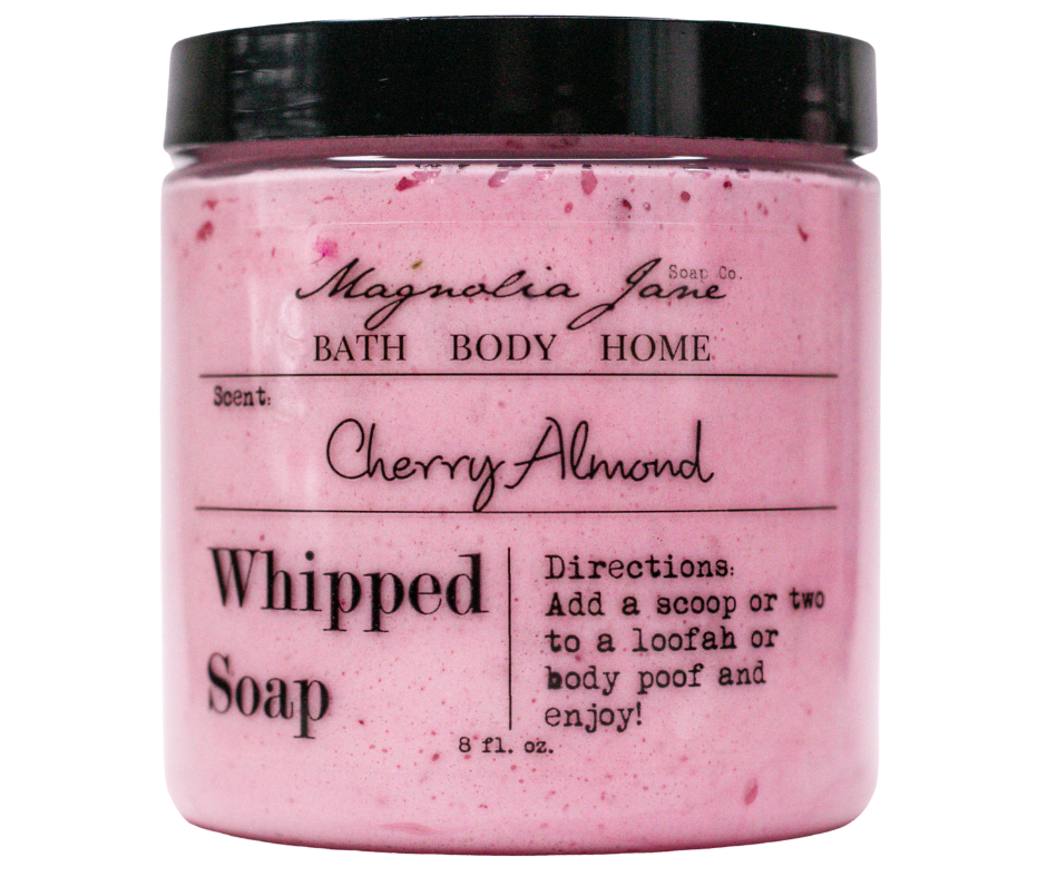 Cherry Almond Whipped Soap