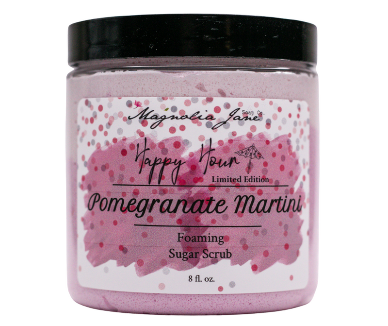 Pomegranate Martini Foaming Sugar Scrub