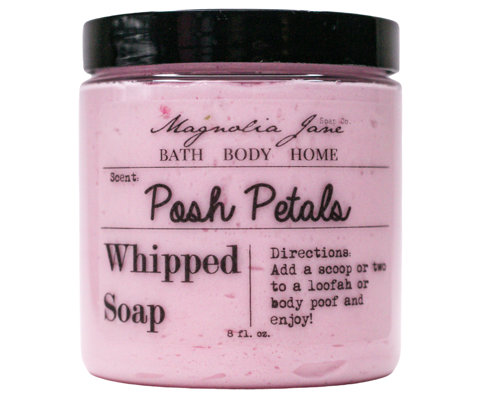 Posh Petals Whipped Soap