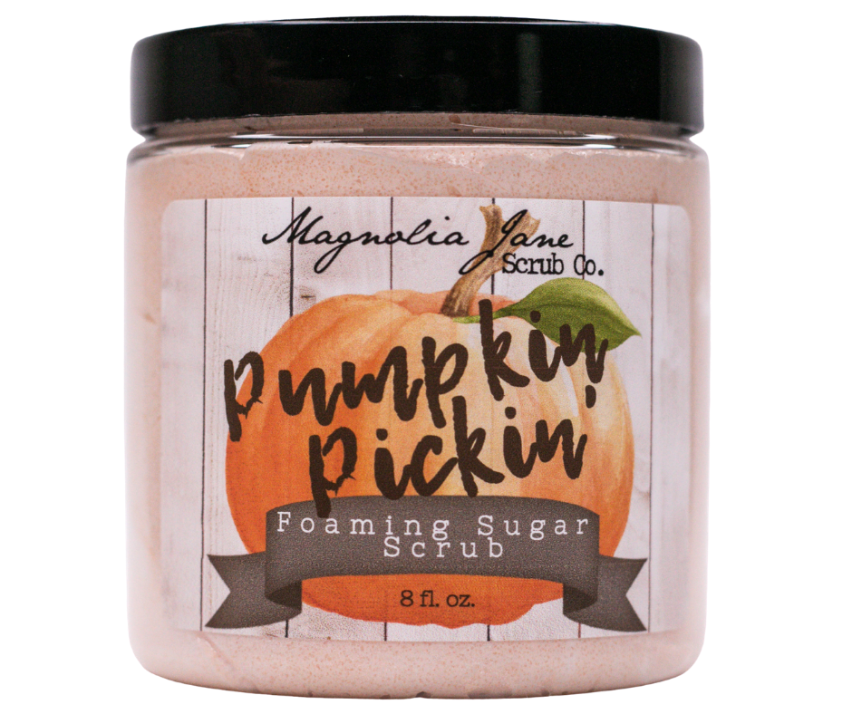 Pumpkin Pickin' Foaming Sugar Scrub