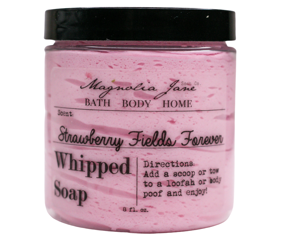 Strawberry Fields Forever Whipped Soap