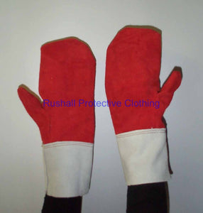 Reversible Heat Resistant Mitt Thermo Lined