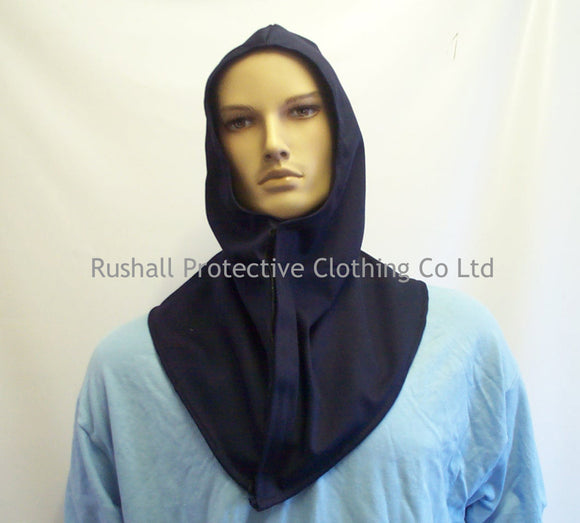 Navy Proban Hood with Shoulders