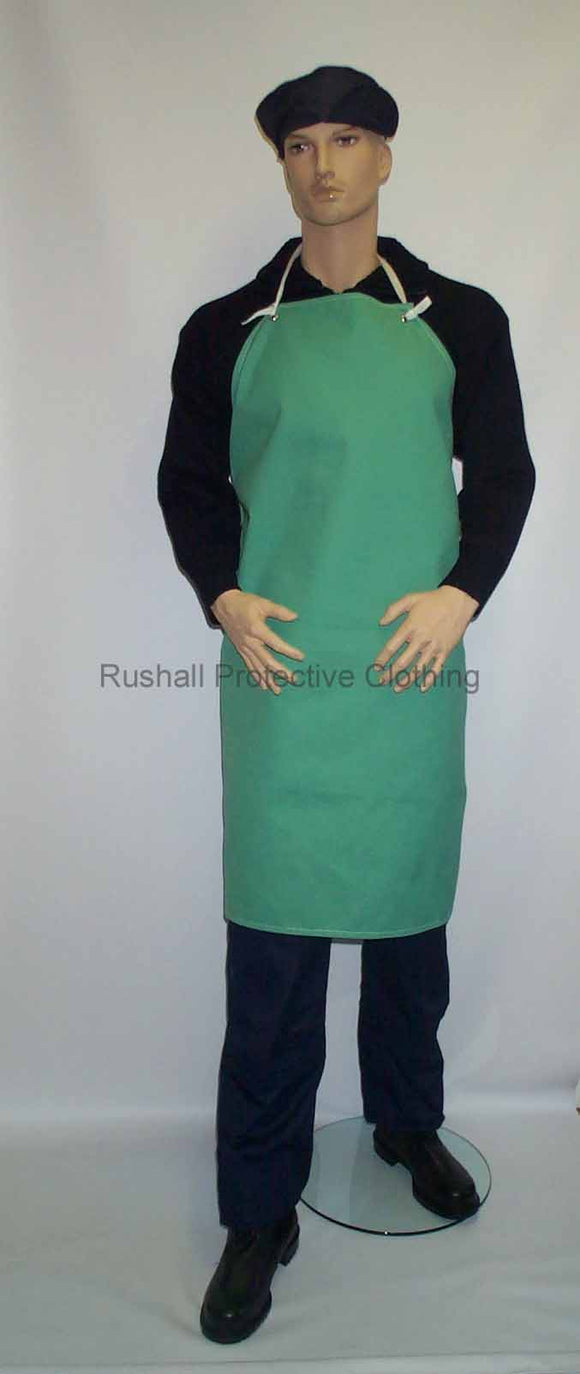 Green Canvas Apron 42x36 Inch