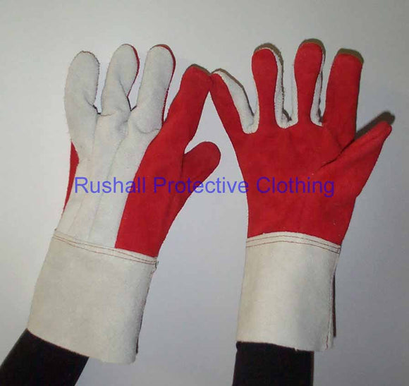 Red Heat Resistant Glove