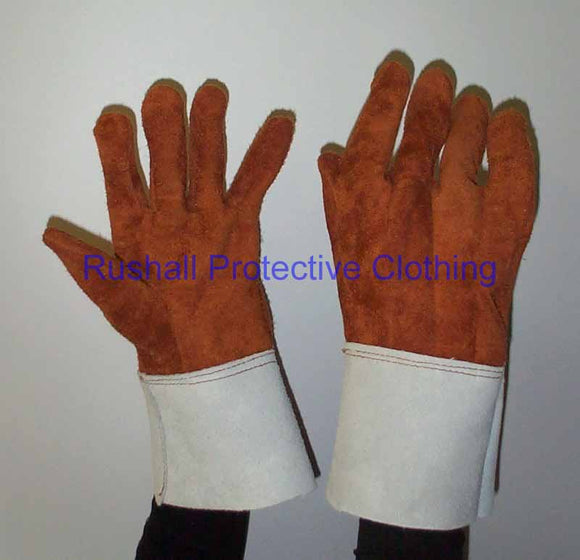 Dark Brown Brontoguard Gloves