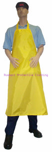 Butchers Yellow Apron 48x36 Inch