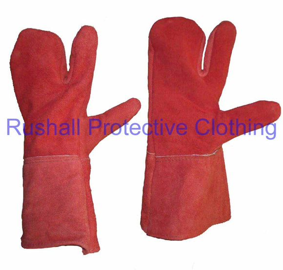 Large Heat Resistant One Finger Mitten