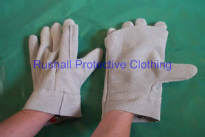 British Apron Palm Chrome Leather Gloves