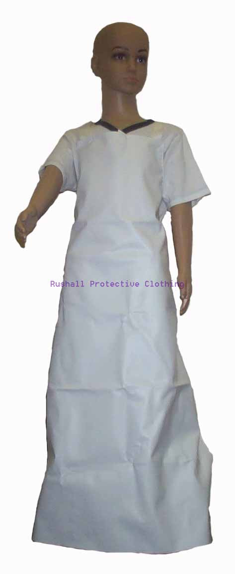 Senior White PVC Apron