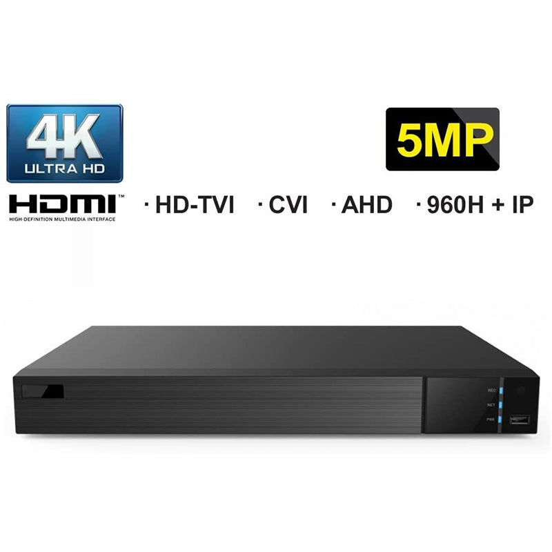 16 CH + 4 IP All-in-One HDMI 4K Output DVR Digital Video Recorder-hdvd