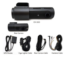 Load image into Gallery viewer, BlackSys CH-300 Series 2-Channel Wi-Fi Dash Camera ( CH-300-2CH ) - HDVideoDepot