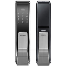 Load image into Gallery viewer, Samsung SHS-P717 Push Pull Biometric Touchscreen Door Lock - HDVideoDepot