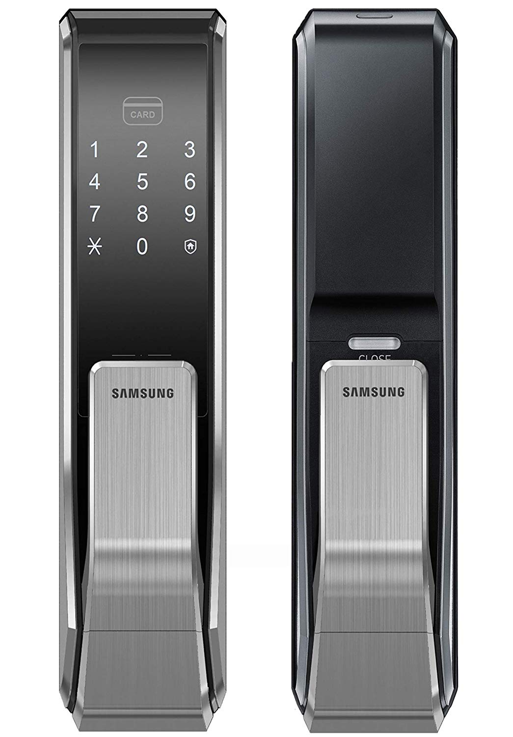 [REFURBISHED] Samsung SHS-P717 Push Pull Biometric Touchscreen Door Lock - HDVideoDepot