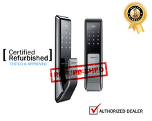 Load image into Gallery viewer, [REFURBISHED] Samsung SHS-P717 Push Pull Biometric Touchscreen Door Lock - HDVideoDepot