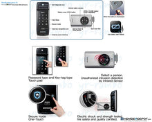 Load image into Gallery viewer, [REFURBISHED] Samsung SHS-2320 RIM Digital Door Lock - HDVideoDepot