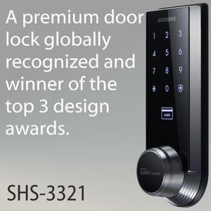 Samsung SHS-3321 Deadbolt Digital Door Lock - HDVideoDepot