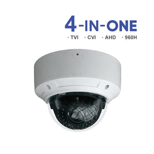 2MP(1080P) Varifocal Lens Vandal Dome with Deeper Base VTC-8AV21 + VLCM-JB20