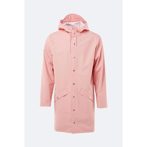Rains - Long Jacket - Coral - Unisexe