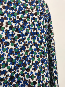 Sweat - Tacheté Bleu/Vert - Paul Smith - Femme