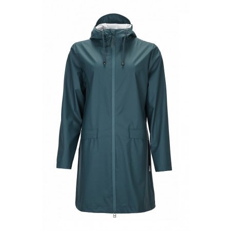 Rains - W Coat - Dark Teal - Unisexe