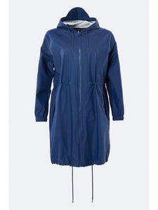Rains - Long W Jacket - Klein Blue - Unisexe
