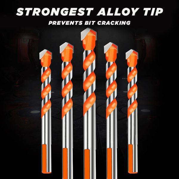6-12mm Multifunction Drill Bits Set Ceramic Wall Tile Marble Glass Punching Hole Saw Drilling Bits Working For Power Tools