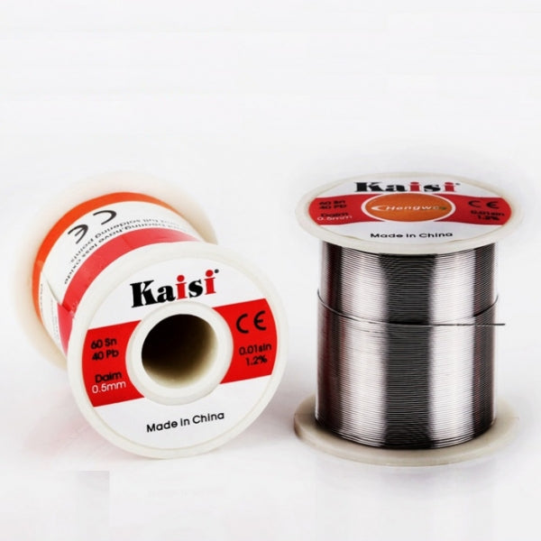 0.5mm 150g 60/40 Tin Lead Rosin Core Flux 1.2 Roll Solder Soldering Wire Reel