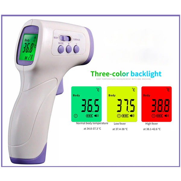 Human Body Temperature Electronic Measurement Infrared Non-Contact Handheld Forehead Temperature Gun