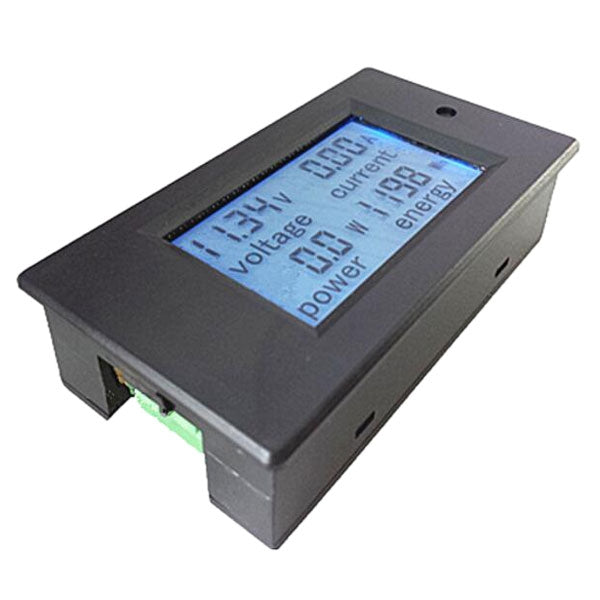 100A DC Digital Multifunction Power Meter Voltmeter Ammeter w/ Shunt