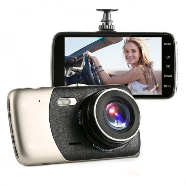 1080P 4inch Mini Full HD WDR Dash Cam Night Vision Car Video Recorder-Without Rear Camera