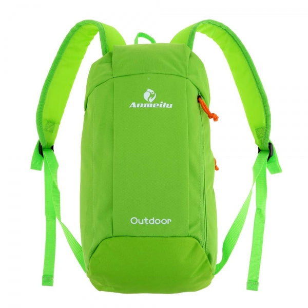 10L Outdoor Unisex Sports Bag Gym Fitness Bag Leisure Backpack Green