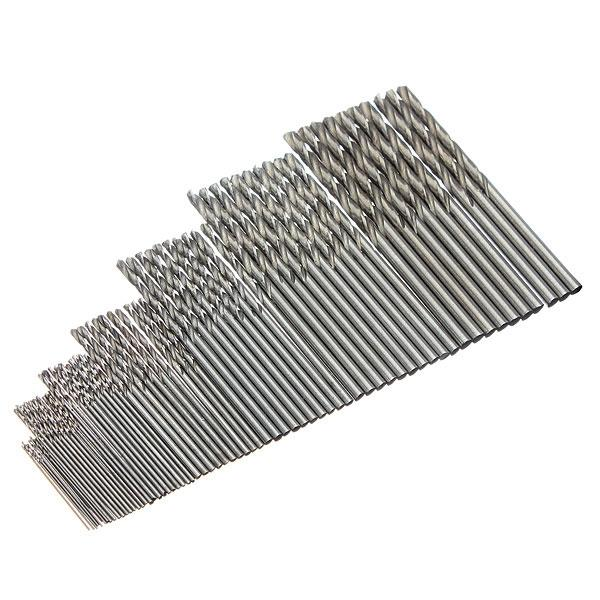 10pcs 1.1mm Straight Shank Micro HSS Twist Drilling Bit - stringsmall