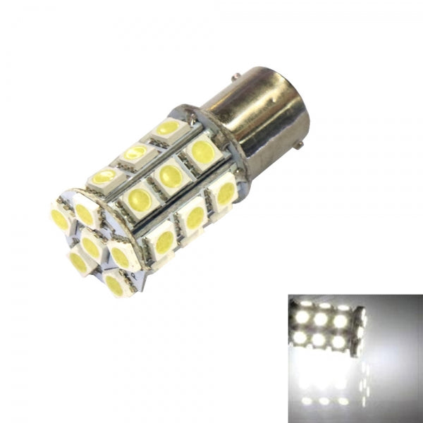 1156 13W 27 x 5050LED 220LM 6000K White Light Car Turning Light
